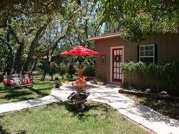 Comfort Pot Belly Stove Romantic Hill Country Cottage Fredericksburg Texas