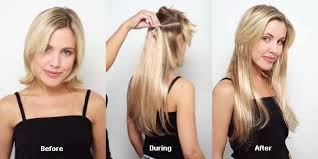 clip in hair extensions before and after the guide for buying clip in hair extensions women s health