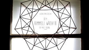 diy christmas special himmeli wreath geometric wreath youtube