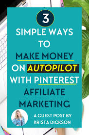 Resume Affiliate Manager Wondering How To Make Money With Pinterest Affiliate Marketing