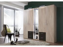armoire 6 portes 4 tiroirs fly blanc