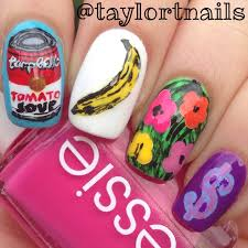 august nail artist of the month taylor t nails the little canvas