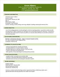 latest resume format 2015 philippines best selling sle resume format for fresh graduates two page format 1 1