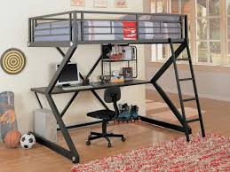 Bunk Bed Desk Combo Plans Bedroom Furniture Bunk Beds With Desks Underneath For Sale