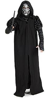 Halloween Death Costume Amazon Harry Potter Deluxe Death Eater Costume Clothing
