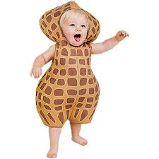 18 Month Halloween Costumes Boys Amazon Peanut Infant Costume M7 Clothing