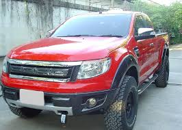 front grill ford ranger revo tuner