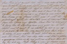 three letters written by former slaves to their masters