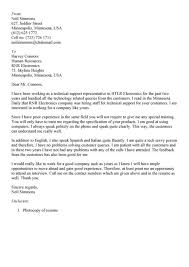 sample cover letter technical cisco customer support engineer
