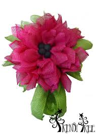 deco paper mesh fuchsia deco paper mesh flower tutorial trendy tree