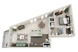 Furniture For 1 Bedroom Apartment 50 One U201c1 U201d Bedroom Apartment House Plans Architecture U0026 Design