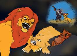 lion king scar u0027s birth k9spot deviantart