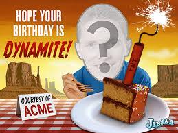 jibjab birthday card dynamite birthday ecard personalized
