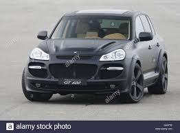 porsche cayenne all black gemballa porsche cayenne gt 600 matt black front view car