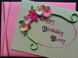 creative most beautiful birthday card making ideas