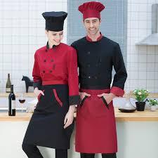 veste cuisine couleur nouveau chef veste 7 couleur breasted alimentaire service