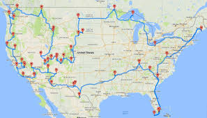 map usa driving distances want to visit all 47 parks in usa distance driving
