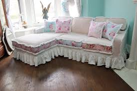 Pink Sofa Slipcover by Sofas Center Shabby Chic Sofa Sets Cottage Covers Slipcovers