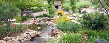 custom water feature denver landscaping contractor art of the yard