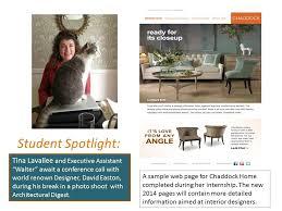 interior design internships randolph community college interior design intern spotlight tina