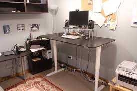 Sit Stand Desk Reviews Ikea Bekant Sitstand Desk Review Inside Sit Stand Desk Reviews
