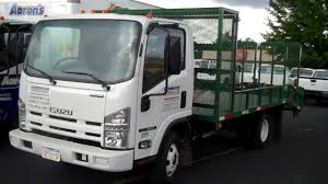 Used Landscape Trucks by Isuzu Npr Lawn Care Body Gas Auto Residential Commerical