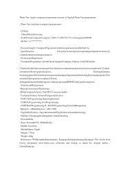 programmer resume exle cover letter junior programmer resume junior computer programmer