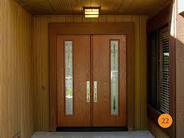 Exterior Doors Fitted Front Doors Chic Glazed Front Door For Your Home