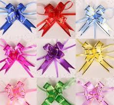 christmas gift bow 10pcs lot christmas gift packing pull bow ribbons decorative