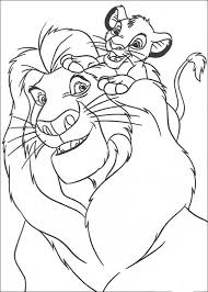 lion king coloring pages kids 4