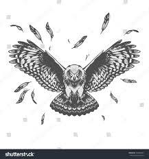 owl illustration stock vector 346880483 shutterstock