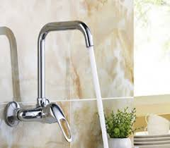 wall mounted kitchen sink faucets single handle wall mount kitchen faucet single handle