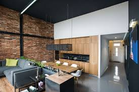 modern loft with surprising elements