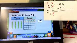 lesson 5 3 model subtraction with regrouping youtube
