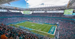Metlife Stadium Map Hard Rock Stadium Miami Dolphins Football Stadium Stadiums Of