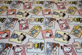 peanuts gang fleece snoopy dog fleece dog blanket fabric store