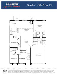 Size Of 2 Car Garage by Dr Horton Floor Plan Archive U2013 Meze Blog
