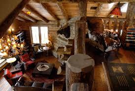 log cabin home meets modern interior design murray construction