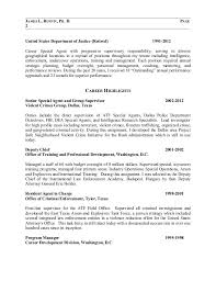 sample resumes 2014 special agent sample resume professional special agent templates