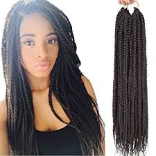 crochet braid hair vrhot 6packs 18 box braids crochet hair small