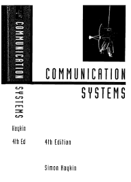 communication systems 4 th edition simon haykin with solutions manual