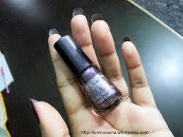 avon simply pretty color me pretty nail enamel u2013 juicy plum notd
