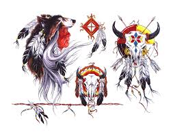 wolf indian tattoos designs indian tattoo images u0026 designs
