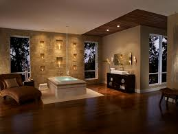 wall candle sconces in bathroom contemporary with spa by sherwin