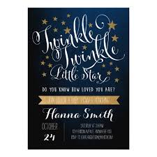 twinkle twinkle baby shower invitations twinkle twinkle baby shower invitation zazzle