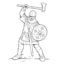 6 mike the knight coloring pages knight and drawbridge colouring