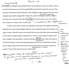 how to write a rough draft for a research paper trifles by susan glaspell students teaching english paper strategies 4