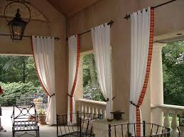 Outdoor Curtains With Grommets Outdoor Curtains For Patio For Really Encourage Daily Knight