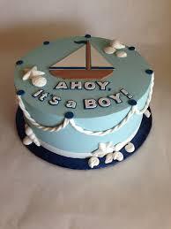 Baby Shower Cakes Houston Texas Baby Shower Cake Nautical Baby Boy Sailboat Sea