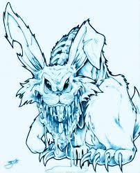 alice rabbit clipart